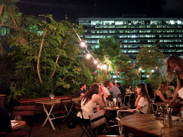 rooftop bar in tel aviv